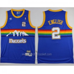 Maglie nba Denver Nuggets Alex ENGLISH #2 blu