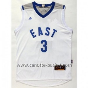 Maglie 2016 East All-Star Dwyane Wade #3 bianco