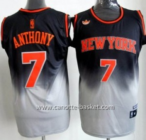 Maglie nba New York Knicks Carmelo Anthony #7 Fadeaway Moda