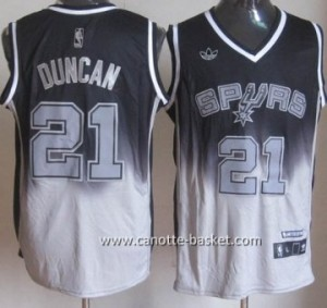 Maglie nba San Antonio Spurs Tim Duncan #21 Fadeaway Moda