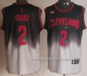 Maglie nba Cleveland Cavalier Kyrie Irving # 2 Fadeaway Moda