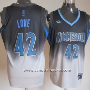 Maglie nba Minnesota Timberwolves Kevin Love #42 Fadeaway Moda