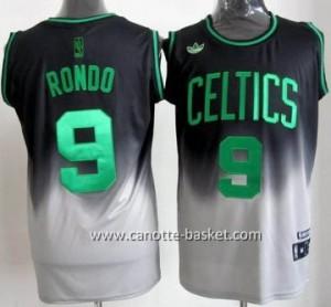Maglie nba Boston Celtics Rajon Rondo #9 Fadeaway Moda