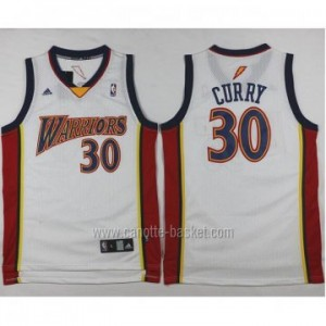 Maglie nba Golden State Warriors Stephen Curry #30 bianco Rookie
