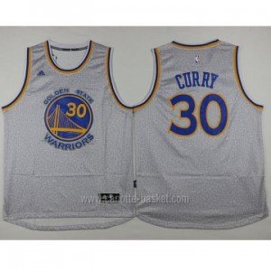 Maglie nba Golden State Warriors Stephen Curry #30 grigio
