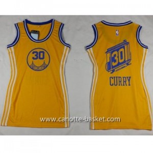 Maglie nba Donna Golden State Warriors Stephen Curry #30 giallo