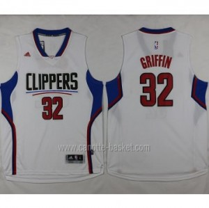 Maglie nba Los Angeles Clippers Blake Griffin #32 bianco 2016 stagione