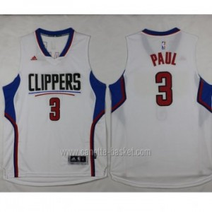 Maglie nba Los Angeles Clippers Chris Paul #3 bianco 2016 stagione