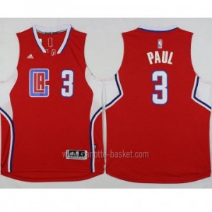 Maglie nba Los Angeles Clippers Chris Paul #3 rosso 2016 stagione