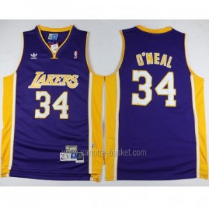 Maglie nba Los Angeles Lakers porpora Shaquille O'Neal #34