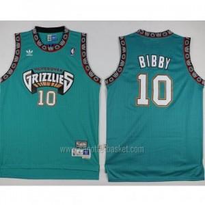 Maglie nba Memphis Grizzlies Mike Bibby #10 verde