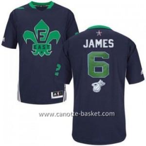 Maglie 2014 All-Star LeBron James #6 blu
