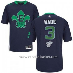 Maglie 2014 All-Star Dwyane Wade #3 blu
