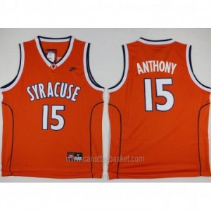 Maglie nba New York Knicks Carmelo Anthony #15 arancione