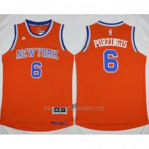 Maglie nba New York Knicks Tyson Chandler #6 arancione nuovo
