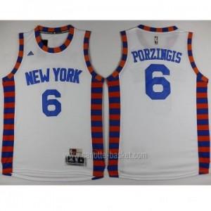 Maglie nba New York Knicks Tyson Chandler #6 bianco nuovo