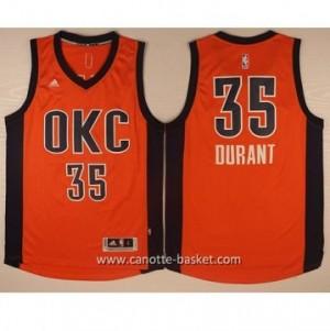 Maglie nba Oklahoma City Thunde Kevin Durant #35 arancione