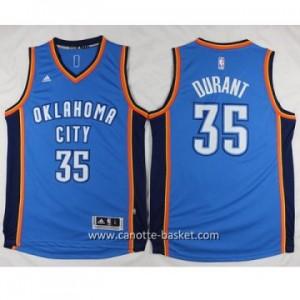Maglie nba Oklahoma City Thunde Kevin Durant #35 blu 2016 stagione