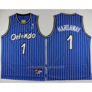 Maglie nba Orlando Magic Penny Hardaway #1 blu strisce