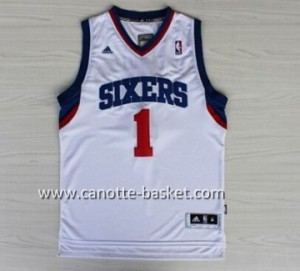 Maglie nba Philadelphia 76ers Carter-Williams #1 bianco