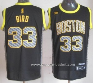 Maglie nba Boston Celtics Larry Bird #33 Relampago