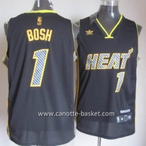 Maglie nba Miami Heat Chris Bosh #1 Relampago