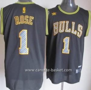 Maglie nba Chicago Bulls Derrick Rose #1 Relampago