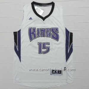 Maglie nba Sacramento Kings DeMarcus Cousins #15 bianco