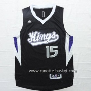 Maglie nba Sacramento Kings DeMarcus Cousins #15 nero