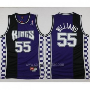 Maglie nba Sacramento Kings Jason Williams #55 Retro porpora
