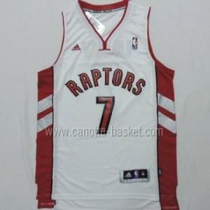 Maglie nba Toronto Raptors Kyle Lowry #7 bianco nuovi tessuti