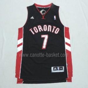 Maglie nba Toronto Raptors Kyle Lowry #7 nero nuovi tessuti