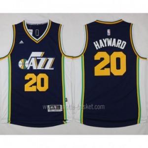 Maglie nba Utah Jazz Gordon Hayward #20 blu marino 2015 stagione