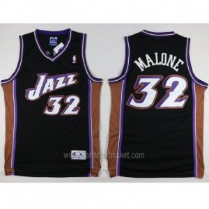 Maglie nba Utah Jazz Karl Malone #32 nero