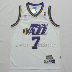 Maglie nba Utah Jazz PISTOL PETE MARAVICH #7 bianco