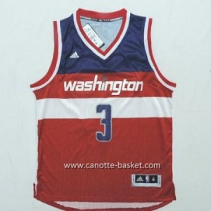 Maglie nba Washington Wizards Bradley Beal #3 rosso