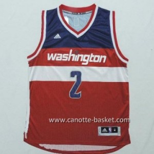 Maglie nba Washington Wizards John Wall #2 rosso
