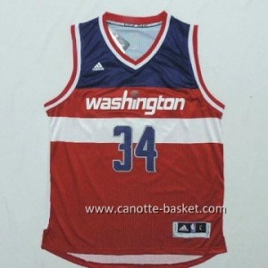 Maglie nba Washington Wizards Paul Pierce #34 rosso