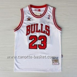 Maglie 1998 All-Star Michael Jordan #23 bianco
