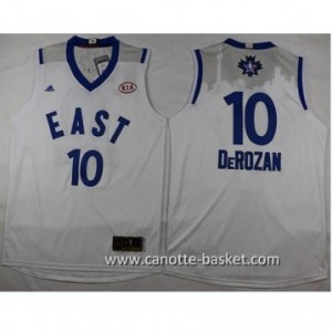 Maglie 2016 East All-Star DeMar DeRozan #10 bianco