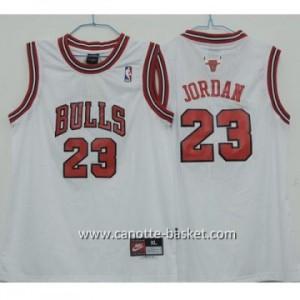 Maglie nba bambino Chicago Bulls Michael Jordan #23 bianco