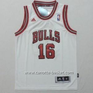 Maglie nba bambino Chicago Bulls Pau Gasol #16 bianco