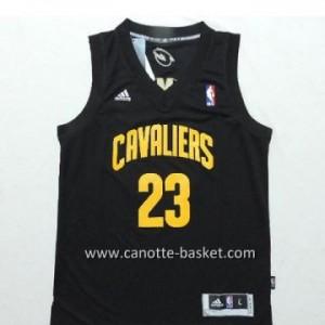 Maglie nba bambino Cleveland Cavalier LeBron James #23 nero