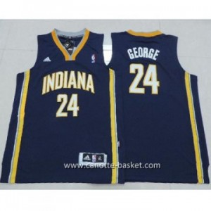 Maglie nba bambino Indiana Pacers Paul George #24 blu