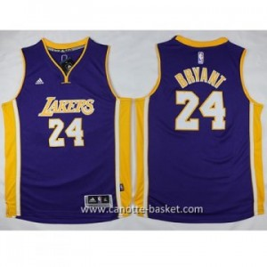 Maglie nba bambino Los Angeles Lakers KOBI BRYANT #24 porpora