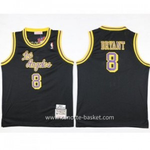 Maglie nba bambino Los Angeles Lakers KOBI BRYANT #8 nero