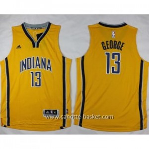 Maglie nba bambino Indiana Pacers Paul George #13 giallo
