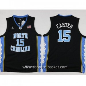 Maglie nba bambino University of North Carolina Carter #15 nero