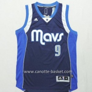 Maglie nba Dallas Mavericks Rajon Rondo #9 blu marino