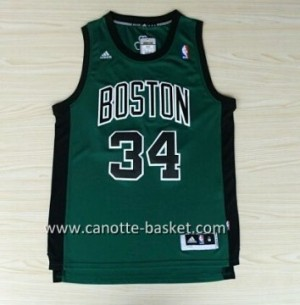 Maglie nba Boston Celtics Paul Pierce #34 nero Word